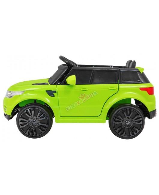 Elektrické autíčko Start Run zelené EVA kolesá