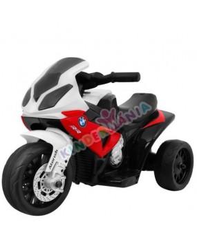Elektrická motorka BMW S 1000 RR 6V červená