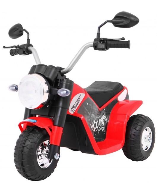 Elektrická motorka MiniBike červená