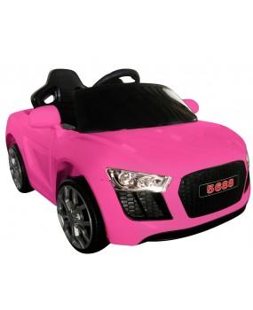 Elektrické autíčko Cabrio AA4 s hojdaním ružové